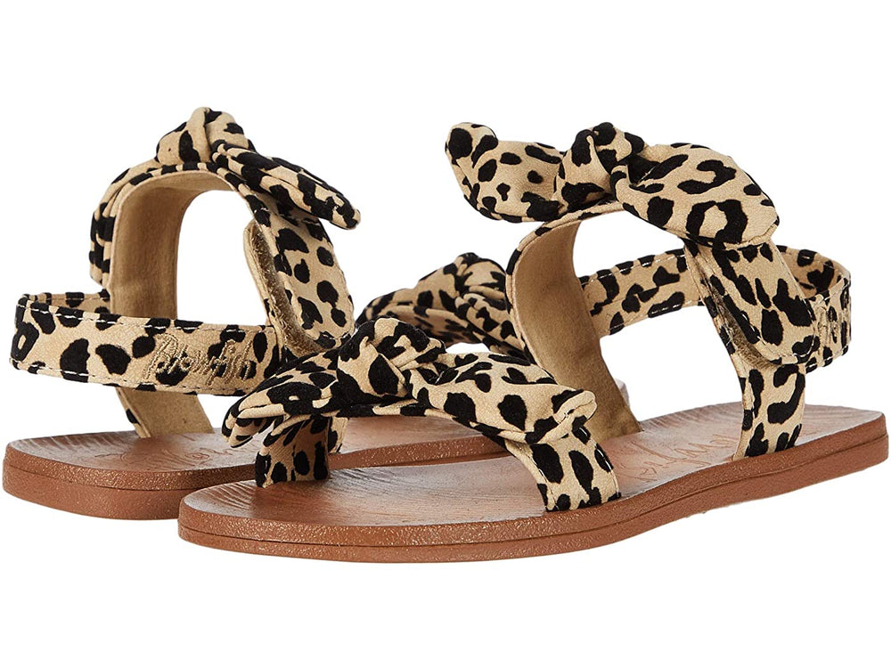 Blowfish - Desert Sand Leopard Grasslands Dynk Toddler Sandal