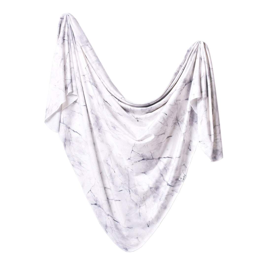 Copper Pearl Swaddle - Marble