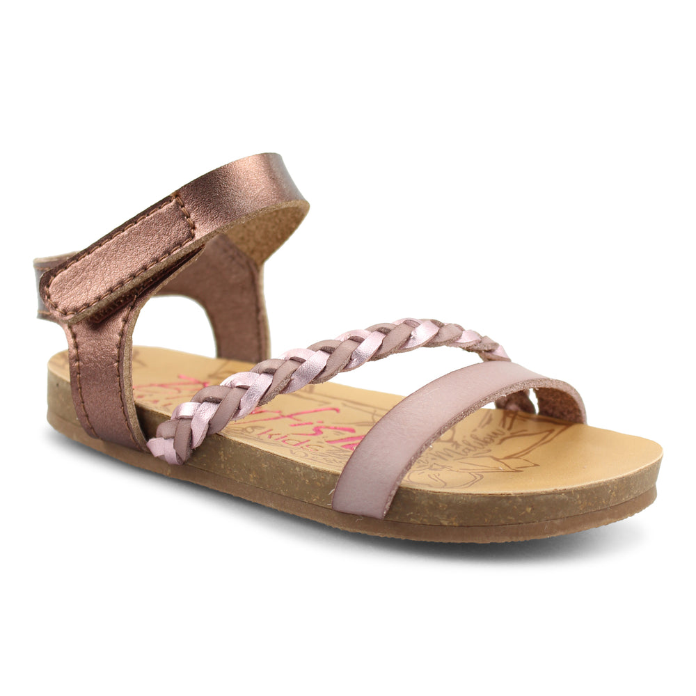 Blowfish - Lavender/Brown/Quartz Purple Goya Toddler Sandal