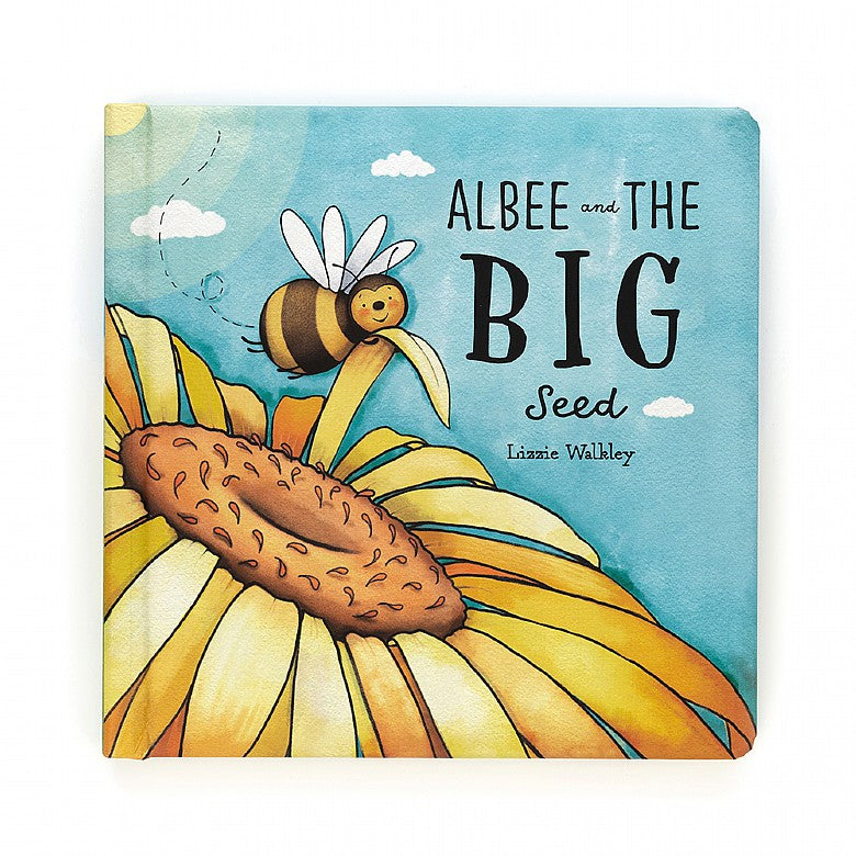 Jellycat - Albee and the Big Seed Book