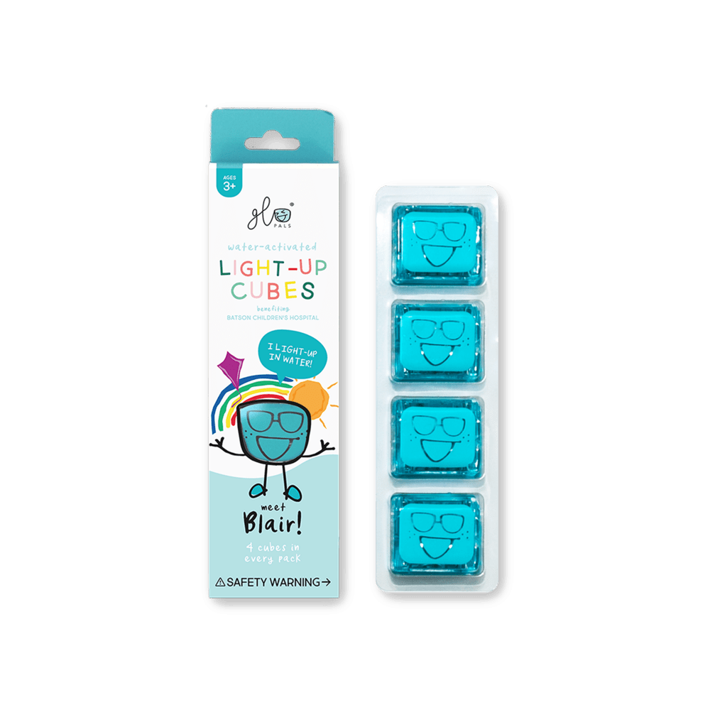 Glo Pals - 4 Pack Cubes - Blue Blair