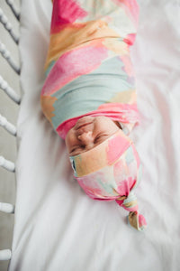 Copper Pearl Swaddle - Monet