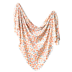 Copper Pearl Swaddle - Hazel