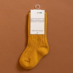 Little Stocking Co. - Golden Yellow Knee High Socks