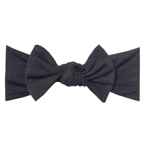 Copper Pearl - Headband Bow - Midnight