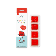 Load image into Gallery viewer, Glo Pals - 4 Pack Cubes - Red Sammy