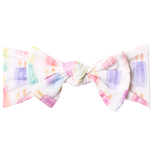Copper Pearl - Headband Bow - Summer