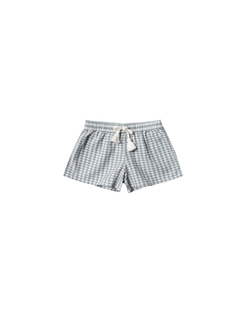 Rylee & Cru - Hometown SS20 - Sea Gingham Solana Shorts