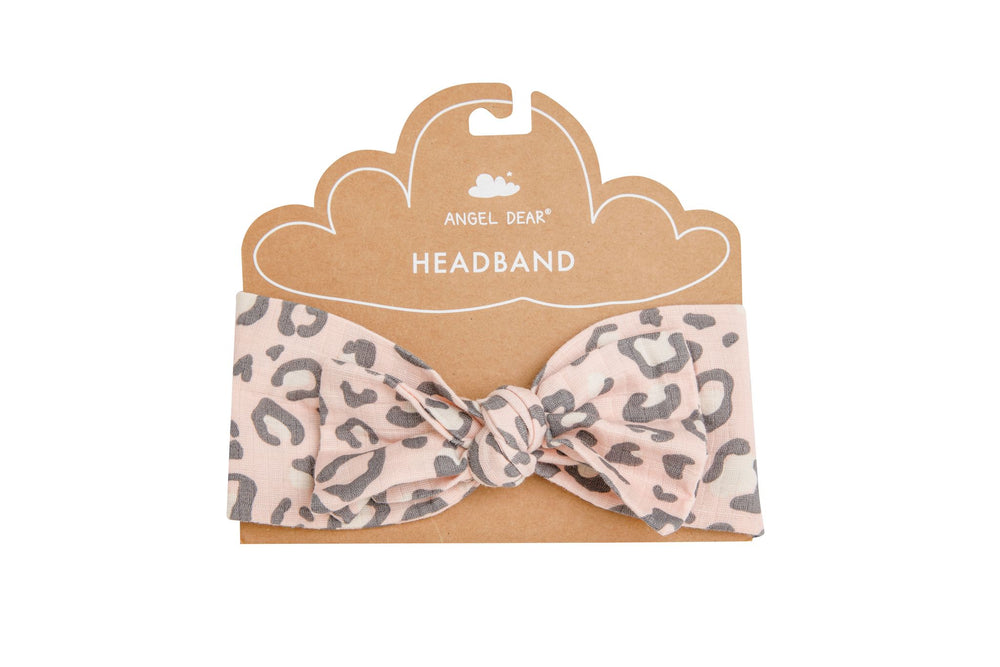 Angel Dear - SS21 - Pink Leopard Headband