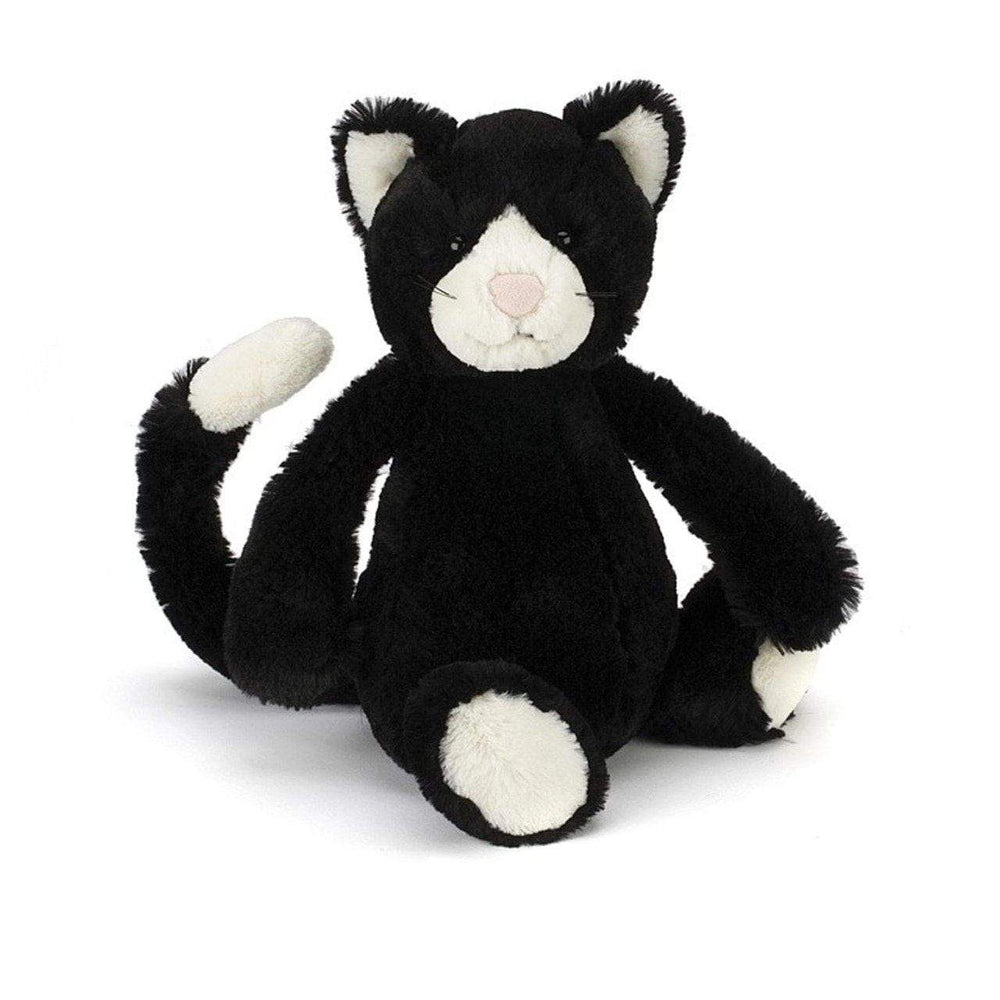 Jellycat - Bashful Black & White Cat Medium