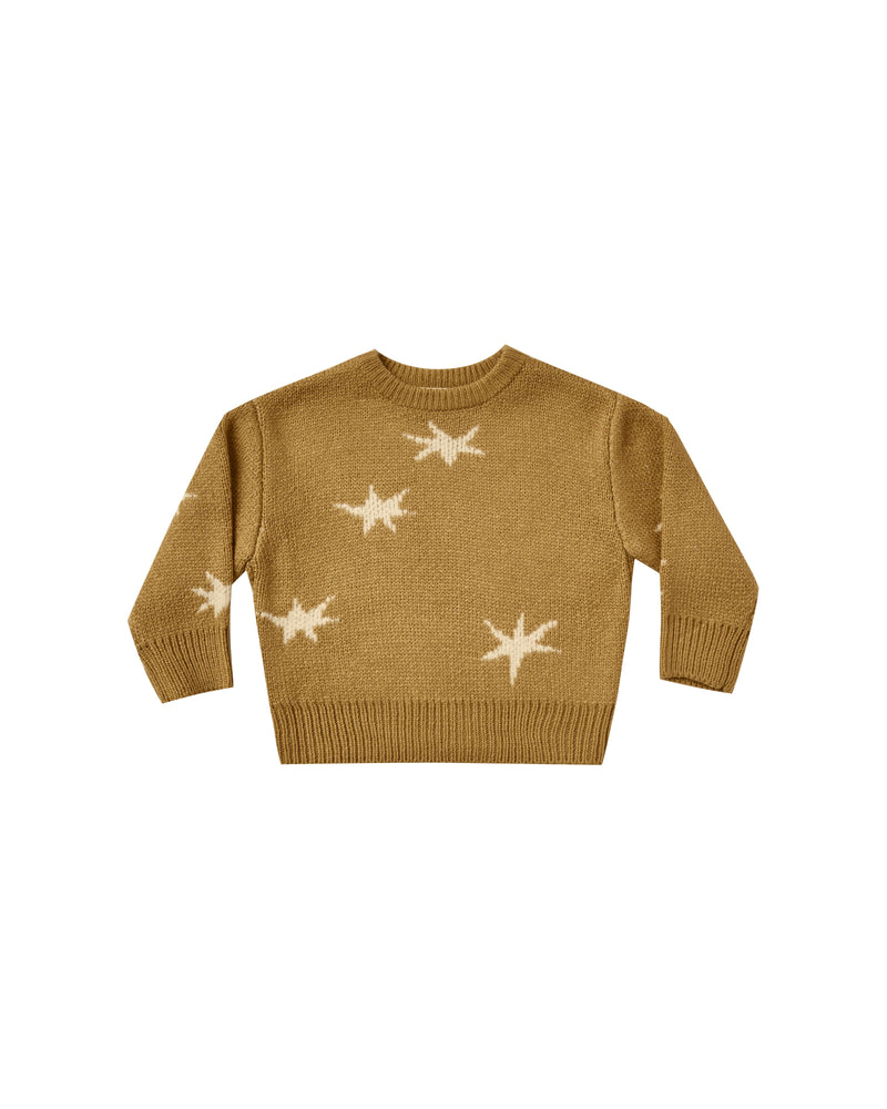 Rylee & Cru - Enchanted - Goldenrod Stars Knit Pullover