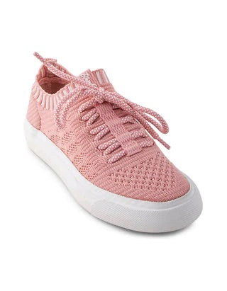 Blowfish - Dirty Pink Matrix Knit Kids Shoes