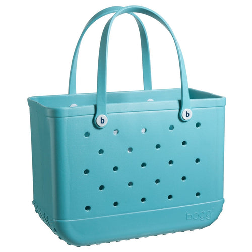 Bogg Bag - Original BOGG Bag (Large Tote 19x15x9.5) - Turquoise and Caicos