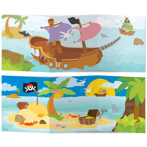 The Piggy Story - Pirates Ahoy! Sticker Activity Tote