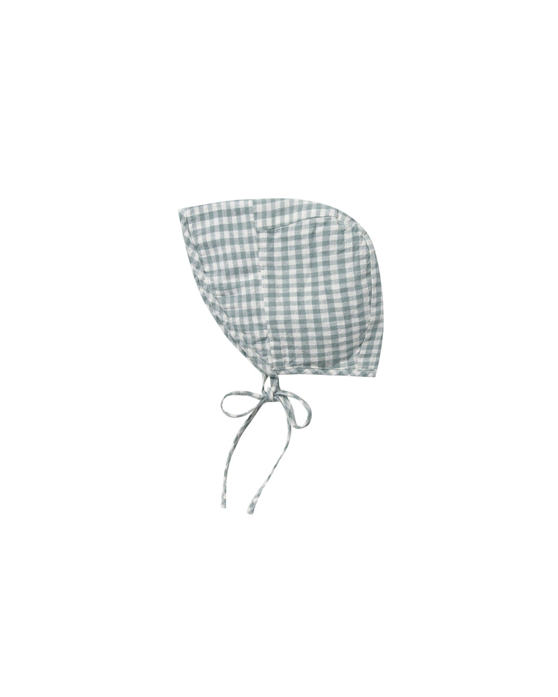 Rylee & Cru - Hometown SS20 - Sea Gingham Brimmed Bonnet
