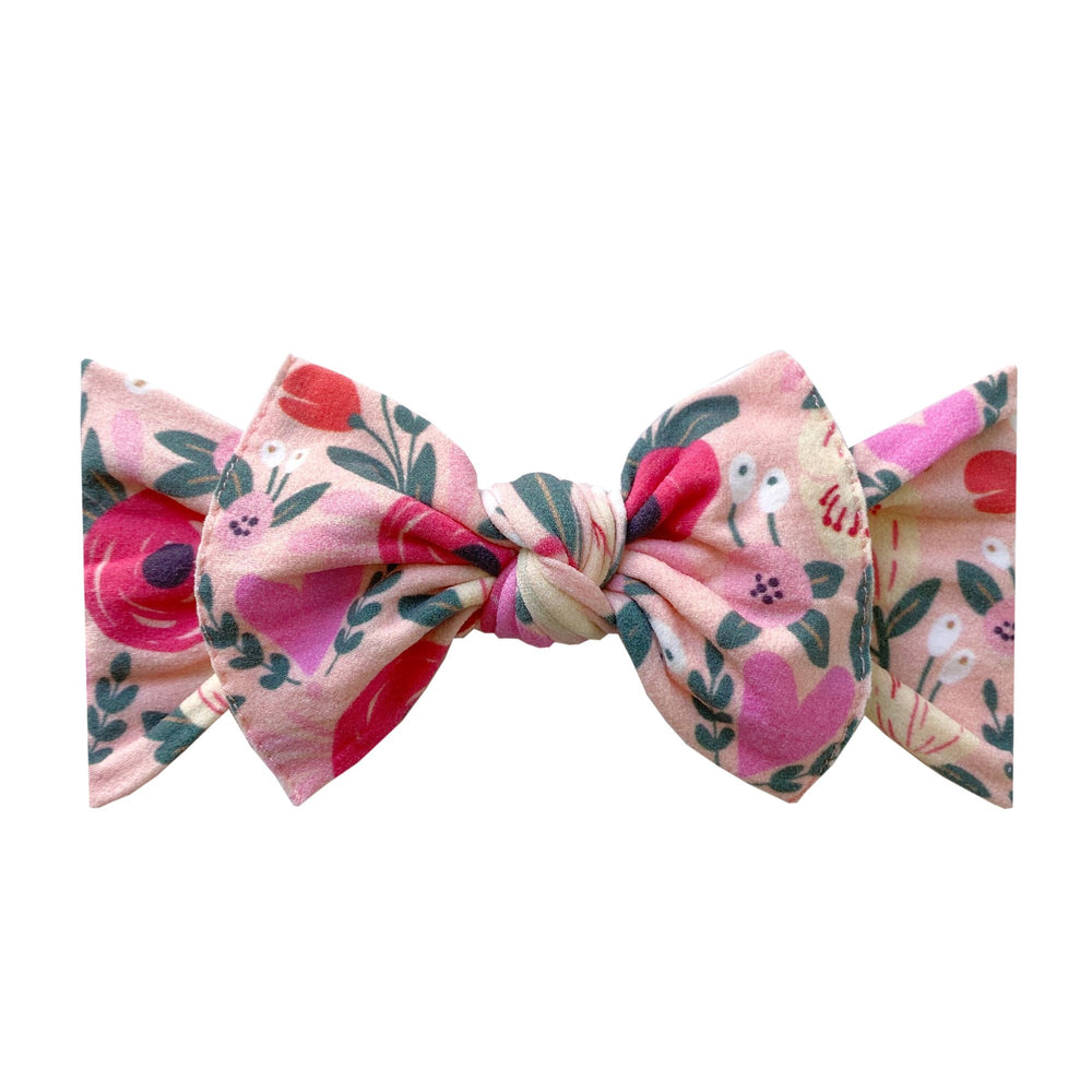 Load image into Gallery viewer, Baby Bling Bows - Printed Knot - BAE