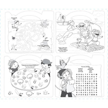 Load image into Gallery viewer, The Piggy Story - Carry Me! Pirates Ahoy! Coloring Activity Tote