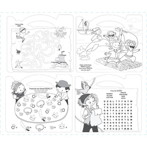 The Piggy Story - Carry Me! Pirates Ahoy! Coloring Activity Tote