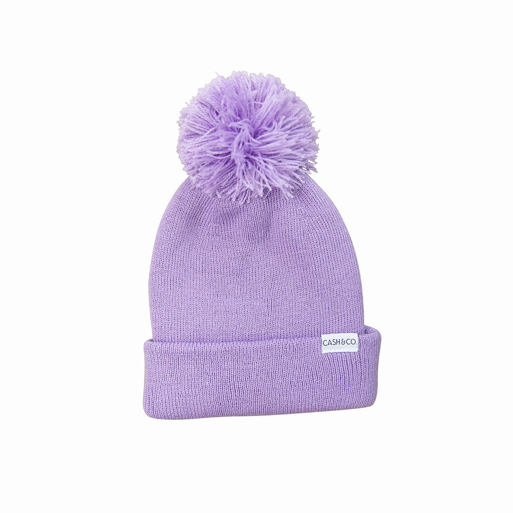 Cash & Co. - Lilac Beanie