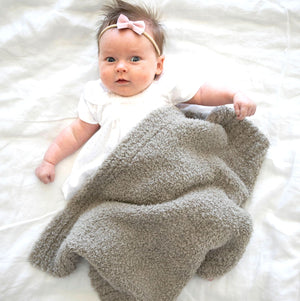 Load image into Gallery viewer, Saranoni - Taupe Bamboni Mini Blanket