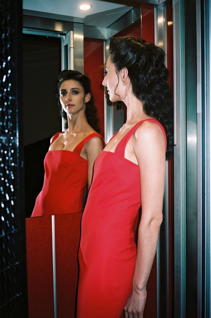 Marcia Tarot Red Dress