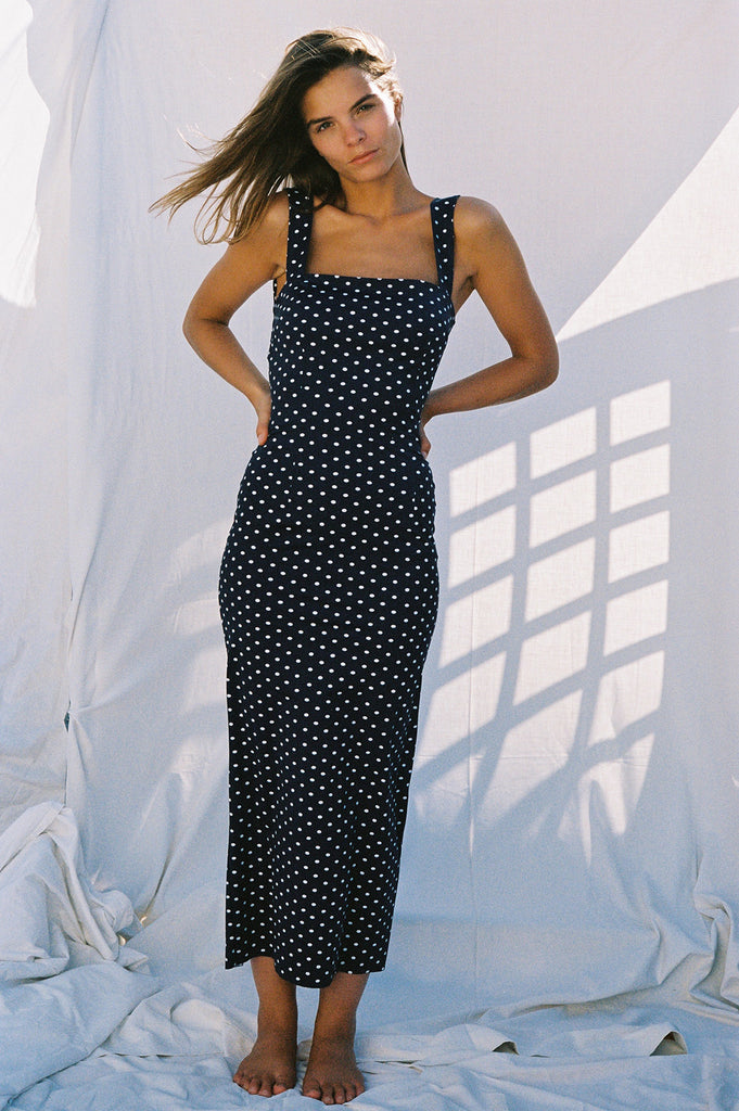 Marcia Tarot Dress Polka Dots