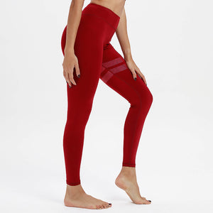 Enlite Leggings Falu Red Side