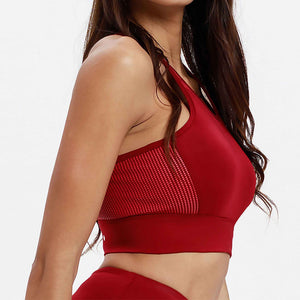 Enlite Sports Bra Falu Red Side