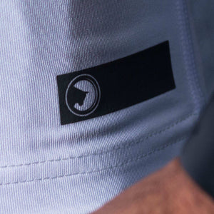 ProLev™ Training Top Short Sleeve White Detail 1