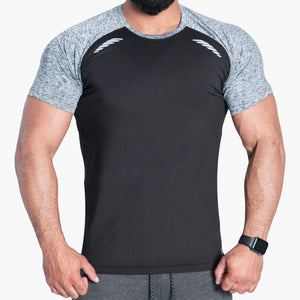 ProLev™ Training Top Short Sleeve Black Front