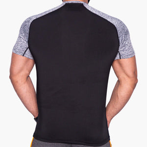 ProLev™ Training Top Short Sleeve Black Back