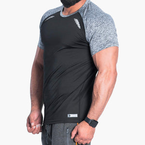 ProLev™ Training Top Short Sleeve Black Side