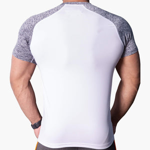 ProLev™ Training Top Short Sleeve White Back