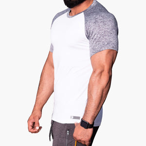 ProLev™ Training Top Short Sleeve White Side