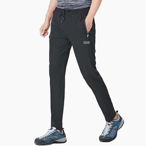 Essential Trail Pants Black Front