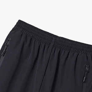 Essential Trail Shorts Black Detail