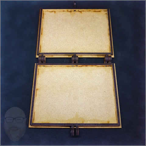 Set of 2 Hinged Slimline Photo Frame MDF Kits