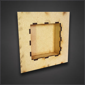 Set of 3 Shadow Box Frame MDF Kits