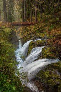 Sol Duc Falls, Olympic Peninsula, Washington