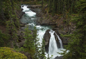 Pine Creek Falls, Atlin, BC
