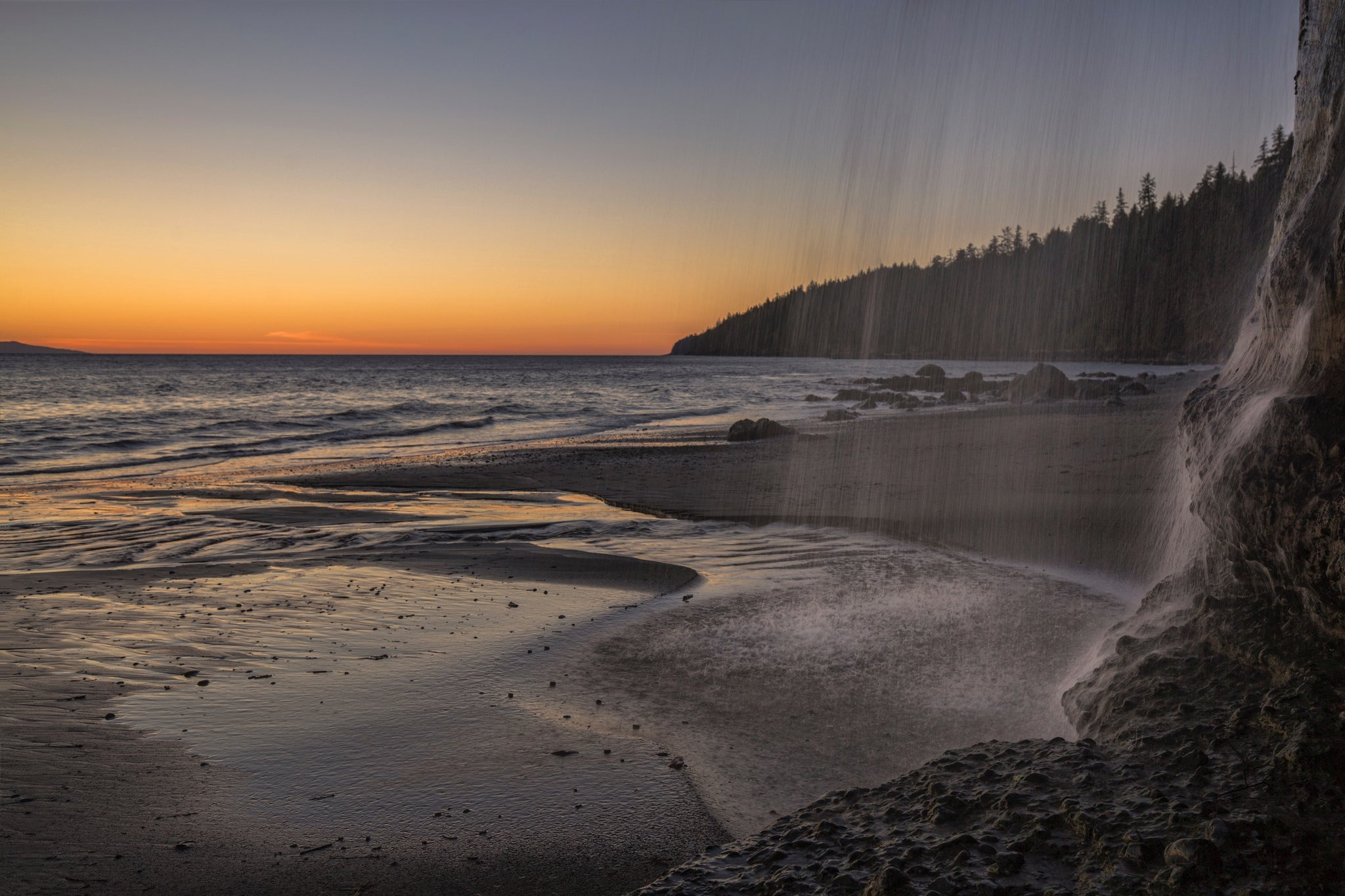 Mystic Beach, West coast of Vancouver Island