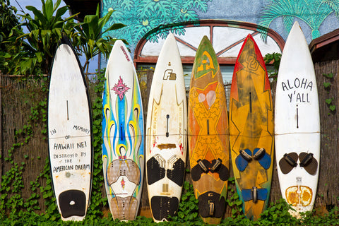 'Retired' surfboards