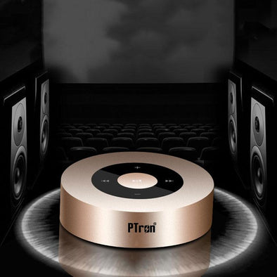 Sonor Bluetooth Speaker New Fashionable Wireless Speaker For All Smartphones (Gold)