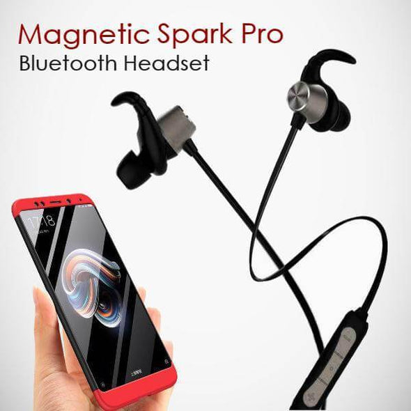 Spark Pro In-ear Bluetooth Headset Wireless Stereo Earphones With Mic (Black)