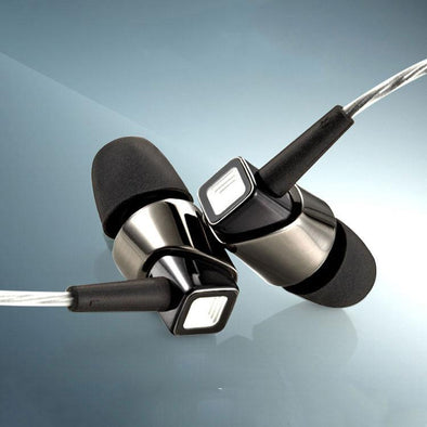 Pride In-Ear Headphone With Noise Cancellation For All Smartphones (Black/Nickel)