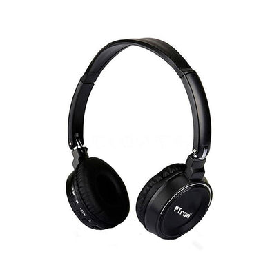 Trips Bluetooth Headset Wireless Stereo Headphone With Mic For All Smartphones (Black)