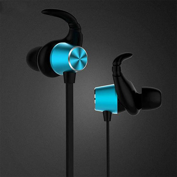 Spark Pro In-ear Bluetooth Headset Wireless Stereo Earphones With Mic (Blue)