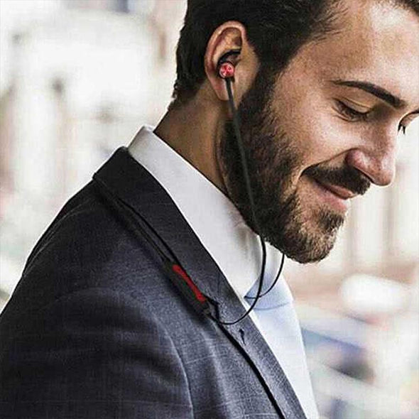 Spark Pro In-ear Bluetooth Headset Wireless Stereo Earphones With Mic (Red)