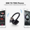 Twins Pro Wireless In-Ear Bluetooth Headset With Mic For All Smartphones (Black)