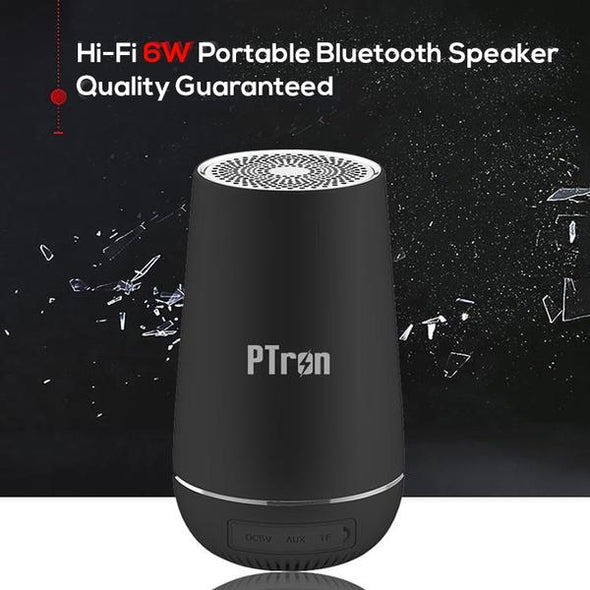Sonor Pro 4.2V Bluetooth Speaker 6W 360° Surround Sound Portable Wireless Speaker (Black)